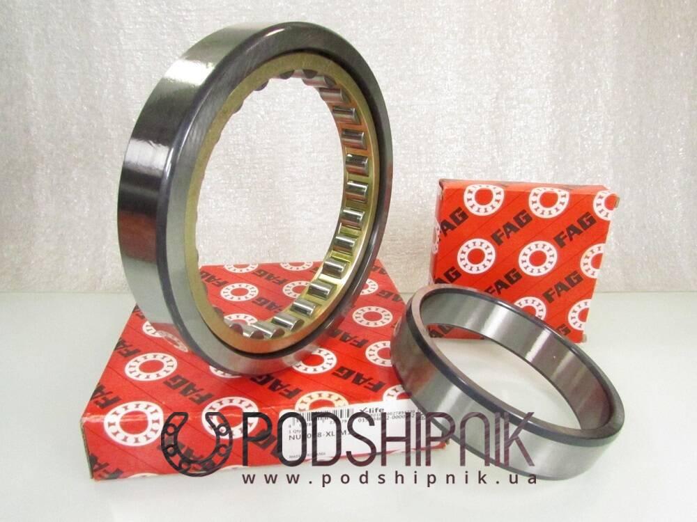 купить подшипники однорядные, плавающие, с двубортным внутренним кольцом, безбортным наружным кольцом, разъемные, с сепаратором
