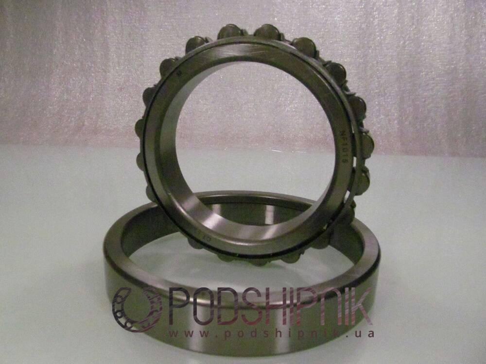 купить подшипники однорядные, с однобортным наружным кольцом, двухбортным внутренним кольцом, разъемные, с сепаратором