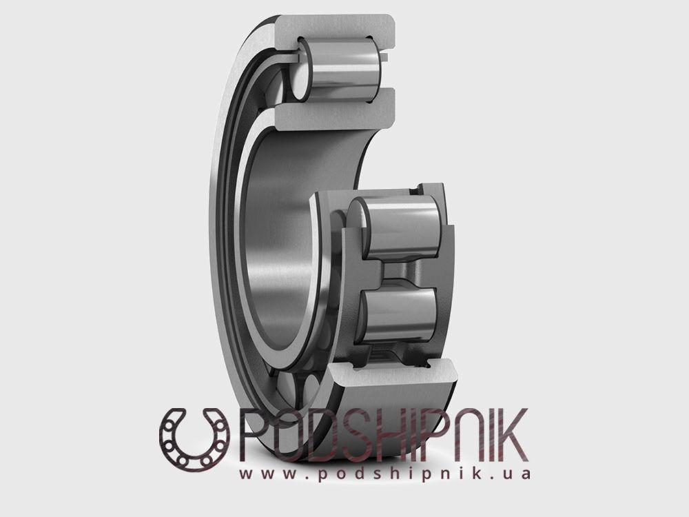 купить однорядные, с двухбортным наружным кольцом, однобортным внутренним кольцом, разъемные, с сепаратором подшипники